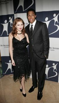 Renee Olstead and Nick Cannon at the Rising Stars 50th Anniversary Gala.