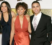 Rosario Dawson, Tracie Thoms and Wilson Jermaine Heredia at the 11th Annual Critics Choice Awards.