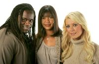 Markus Redmond, Director Dominique Wirtschafter and Tara Reid at the 2007 Sundance Film Festival.