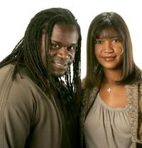 Markus Redmond and Director Dominique Wirtschafter at the 2007 Sundance Film Festival.
