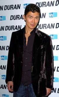 Rick Yune at the Duran Duran performance.