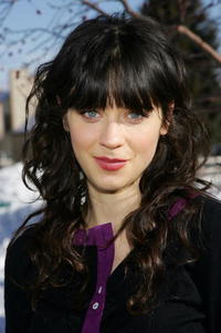 Actress Zooey Deschanel at the Utah screening of