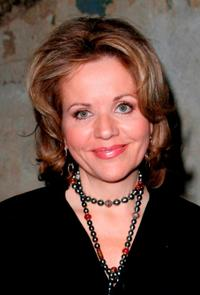 Renee Fleming at the benefit performance of Shakespeare's Macbeth.