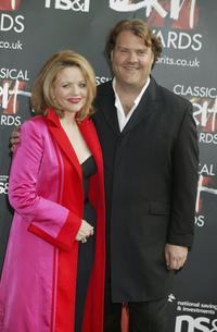 Renee Fleming and Bryn Terfel at the Fifth Annual Classical Brit Awards.