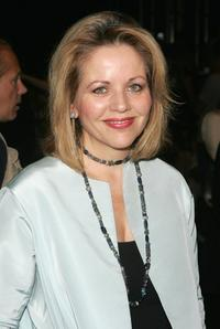 Renee Fleming at the Bill Blass Spring 2006 fashion show during the Olympus Fashion Week.