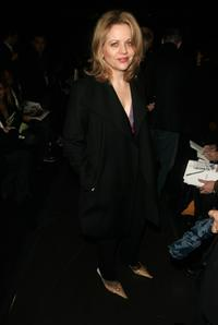 Renee Fleming at the Kenneth Cole Fall 2005 show during the Olympus Fashion Week.