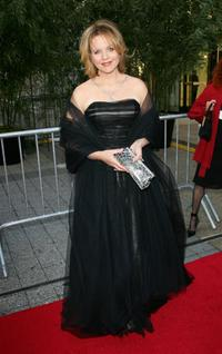 Renee Fleming at the Metropolitan Opera 2006-2007 season opening night.