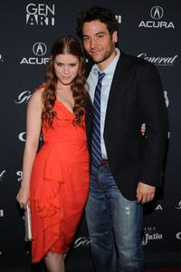 Kate Mara and Josh Radnor at the New York premiere of