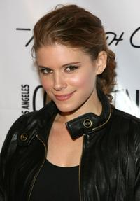 Kate Mara at the Kenneth Cole New York store.