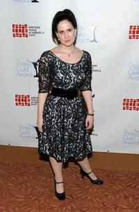 Stephanie D'Abruzzo at the 62nd Annual Writers Guild Awards.