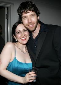 Stephanie D'Abruzzo and James Barbour at the after party of Stephen Sondheim's 75th Birthday Concert and ASCAP Foundation Benefit.