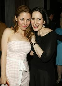 Kerry Butler and Stephanie D'Abruzzo at the after party of Manhattan Theatre Club's Spring Gala.