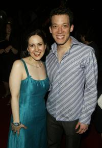 Stephanie D'Abruzzo and John Tartaglia at the 2004 Tony Awards Nominees Annual Class Photo.