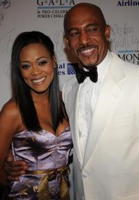 Robin Givens and Montel Williams at the Montel Williams MS Foundation Gala.