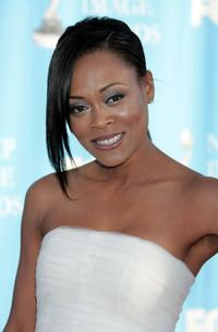 Robin Givens at the 39th NAACP Image Awards.