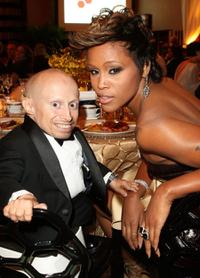 Verne Troyer and Singer Eve at the Cinema Against AIDS Toronto to benefit amfAR and Dignitas event.