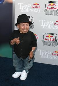 Verne Troyer at the Red Bull Gets Toasted with Travis Pastrana event.