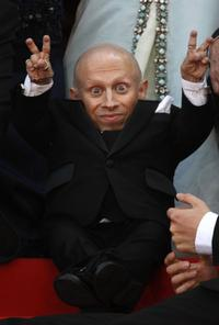 Verne Troyer at the 62nd Cannes Film Festival.