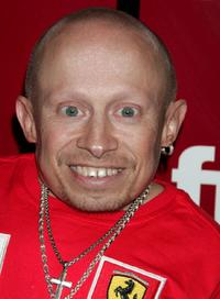 Verne Troyer at the Fuse TV's Grammy party.
