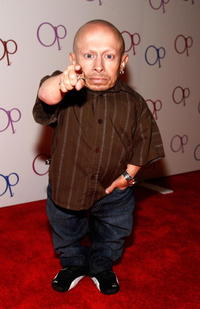 Verne Troyer at the launch of the new Op Advertising Campaign Party.