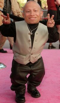 Verne Troyer at the premiere of