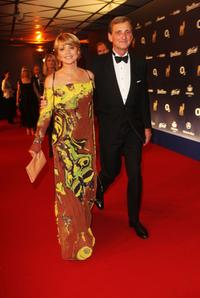 Uschi Glas and Dieter Herrmann at the Annual Bambi Awards 2007.