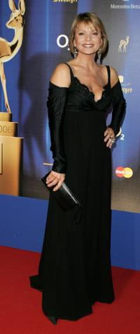 Uschi Glas at the 58th Annual Bambi Awards.