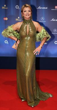 Uschi Glas at the 57th Annual Bambi Awards.
