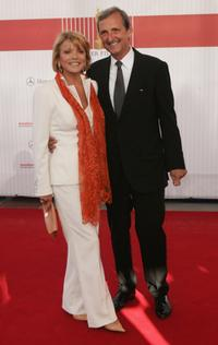 Uschi Glas and her husband Dieter Hermann at the German Film Awards (Deutscher Filmpreis).