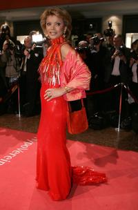 Uschi Glas at the 33rd Annual German Filmball.