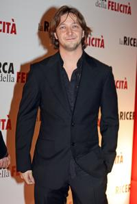 Silvio Muccino at the premiere of