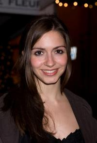 Giulia Steigerwalt at the 1528 Limited Edition perfume cocktail party.