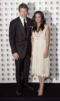 Max Beesley and Parminder Nagra at the Pioneer British Academy Television Awards 2006.