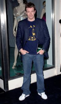 Max Beesley at the Pinko Cocktail Party.
