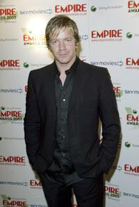 Max Beesley at the Eighth Annual Empire Awards.