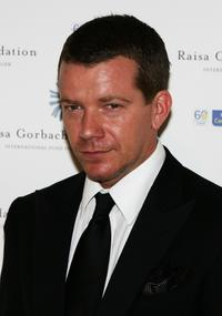 Max Beesley at the Raisa Gorbachev Foundation Party.