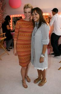 Amy Smart and Kidada Jones at the Kidada Jones Disney Couture party.