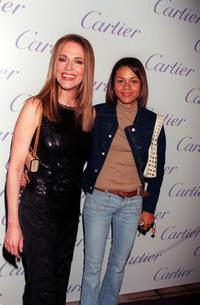 Peggy Lipton and Kidada Jones at the Cartier Haute Joaillerie 2000.