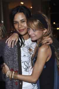 Kidada Jones and Nicole Richie at the New York based fashion designer Charlotte Ronson's forthcoming spring collection.