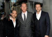 Lee Sternthal, Brian Klugman and Bradley Cooper at the California premiere of