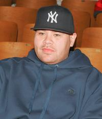 Fat Joe at the P.S. 146 grammar school to donate 20 Hip-e Computers.