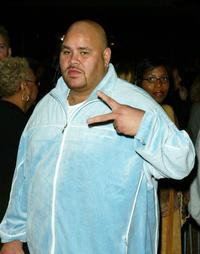 Fat Joe at the premiere of
