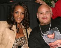 Vivica A. Fox and Fat Joe at the Source Magazine Awards Show Press Conference.