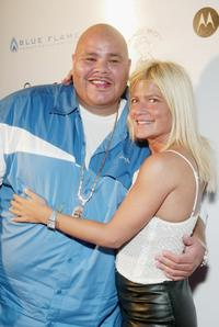 Fat Joe and Lizzie Grubman at the P. Diddy's MTV Video Music Awards after party.