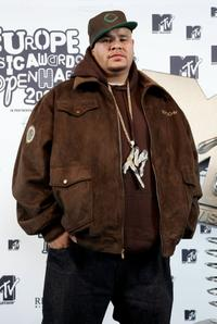 Fat Joe at the 13th annual MTV Europe Music Awards 2006.