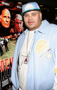 Fat Joe at the private screening of