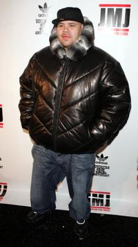 Fat Joe at the 35th anniversary of Addidas superstar sneaker.
