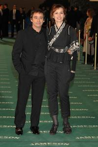 Eduard Fernandez and Ariadna Gil at the Goya Cinema Awards ceremony.