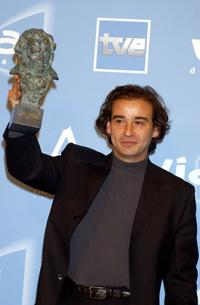 Eduard Fernandez at the 16th Goya Cinema Awards.
