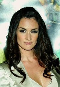 Paz Vega at the premiere of
